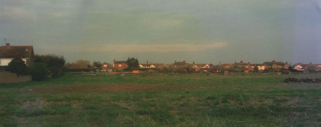 Panoramic view of the Old Site