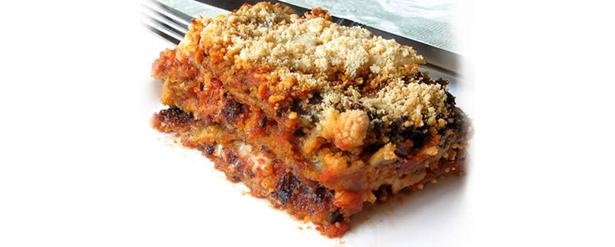 Aubergine and Tomato Bake