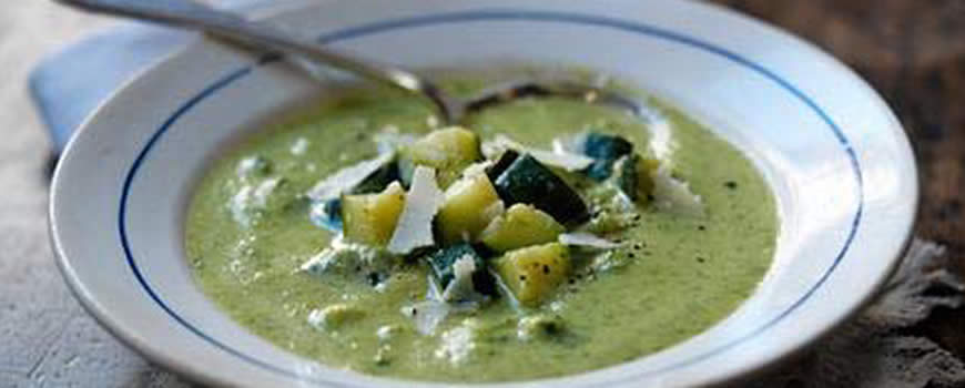 Italian Style Courgette Soup